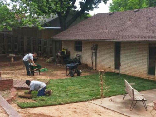Residential Sod Installation Services